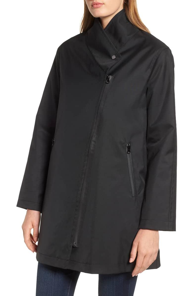 Trina Turk Tenley Asymmetrical Collar Coat. Nordstrom. $385.