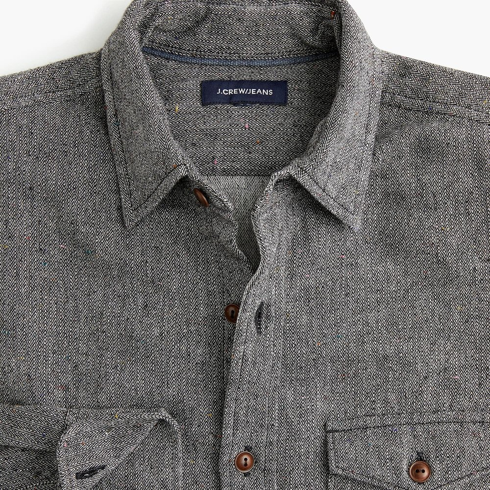 Slim Japanese slub herringbone shirt. Available in multiple colors. (I love this shirt.) J.Crew. $$98. 30% off with code: FRIENDS.