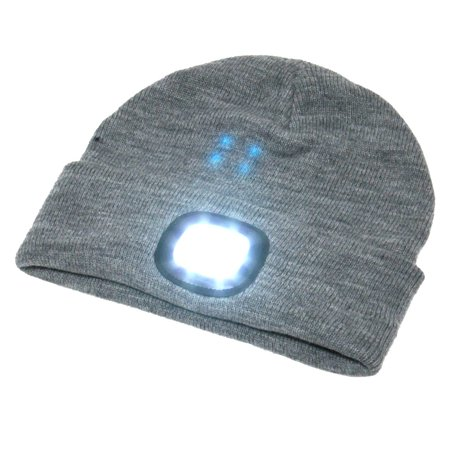 BEAMie Hat With Built-In Rechargeable LED Head Lights. Available in multiple colors. Amazon. $14.