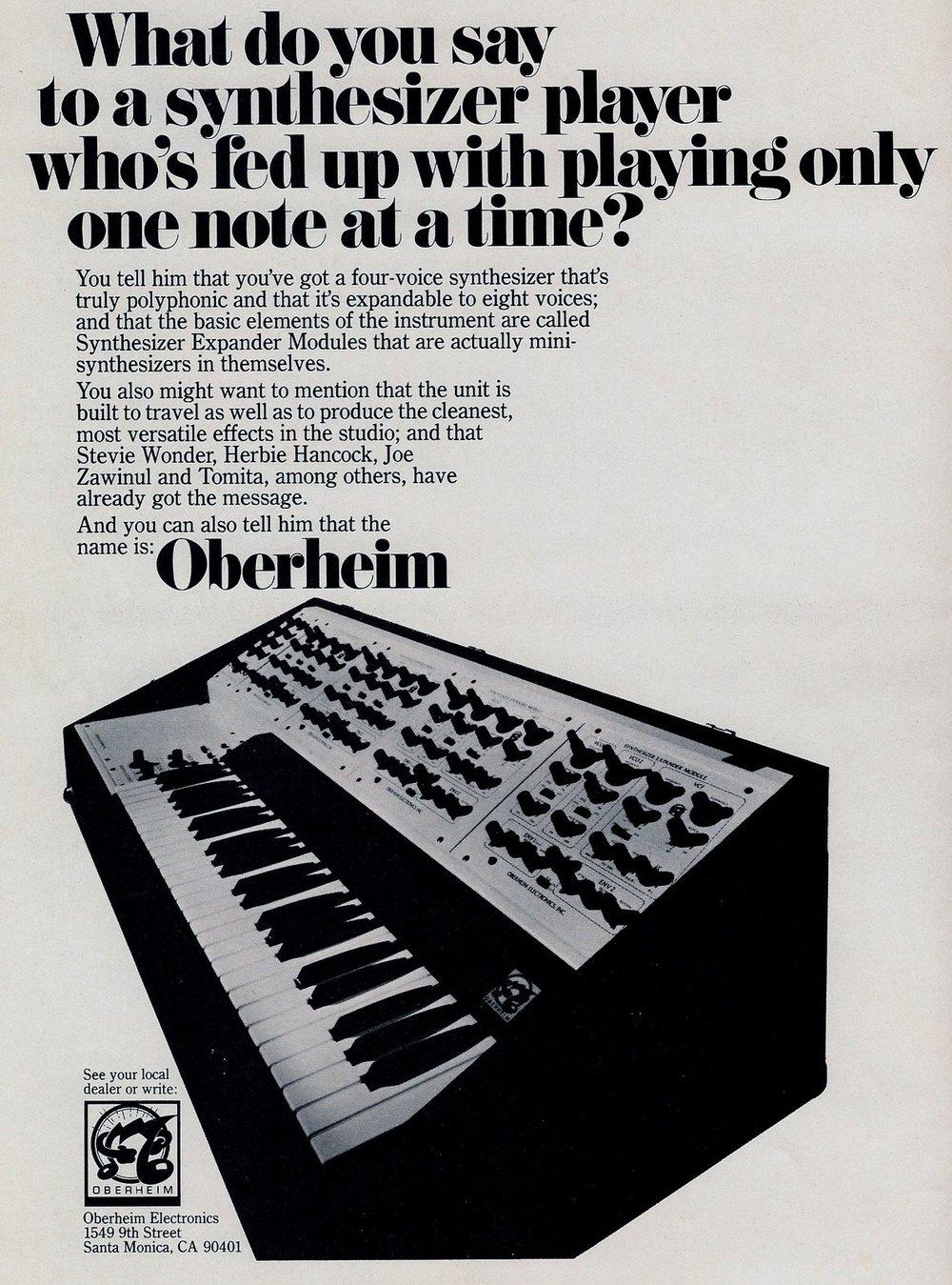 Oberheim 4voice