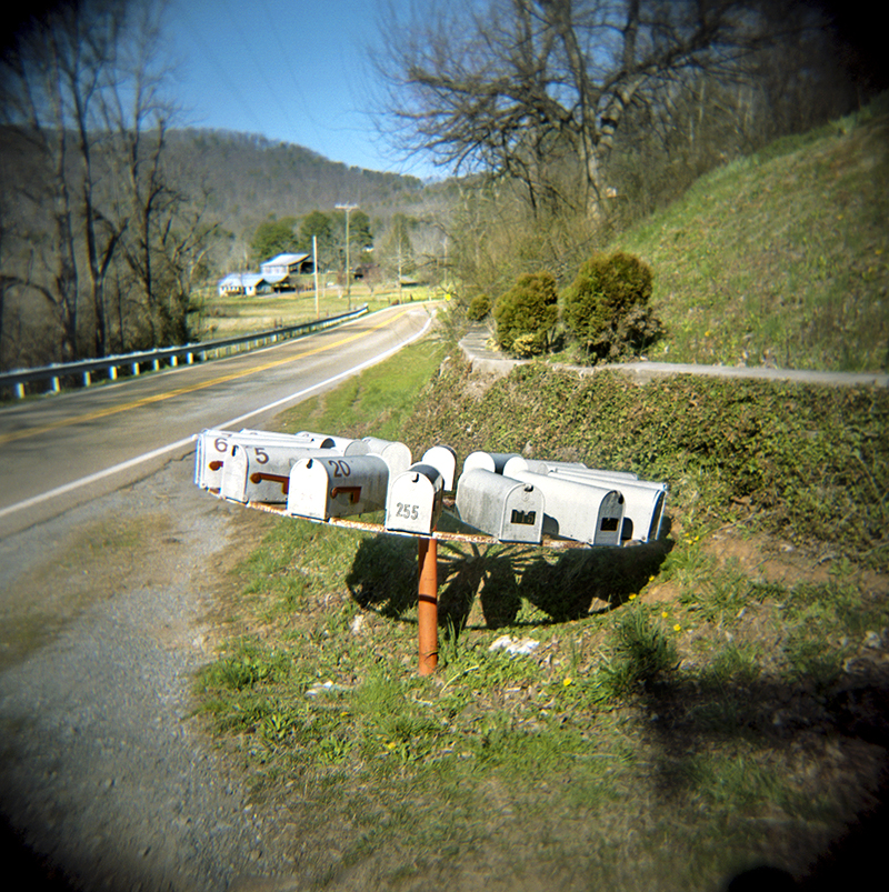 Spinning Mailboxes, Hwy 303, Rhea Co