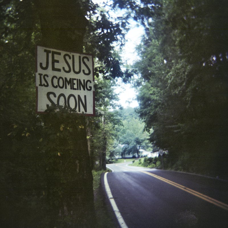 Jesus Is Coming Soon, Hwy 116, Anderson Co