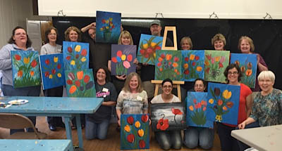 Class of 2015Uncorked #3 with instructor Bonnie Hagen