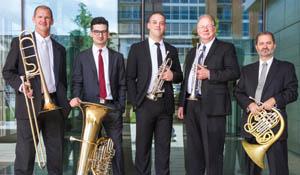 u-w's Wisconsin brass quintet, 2015