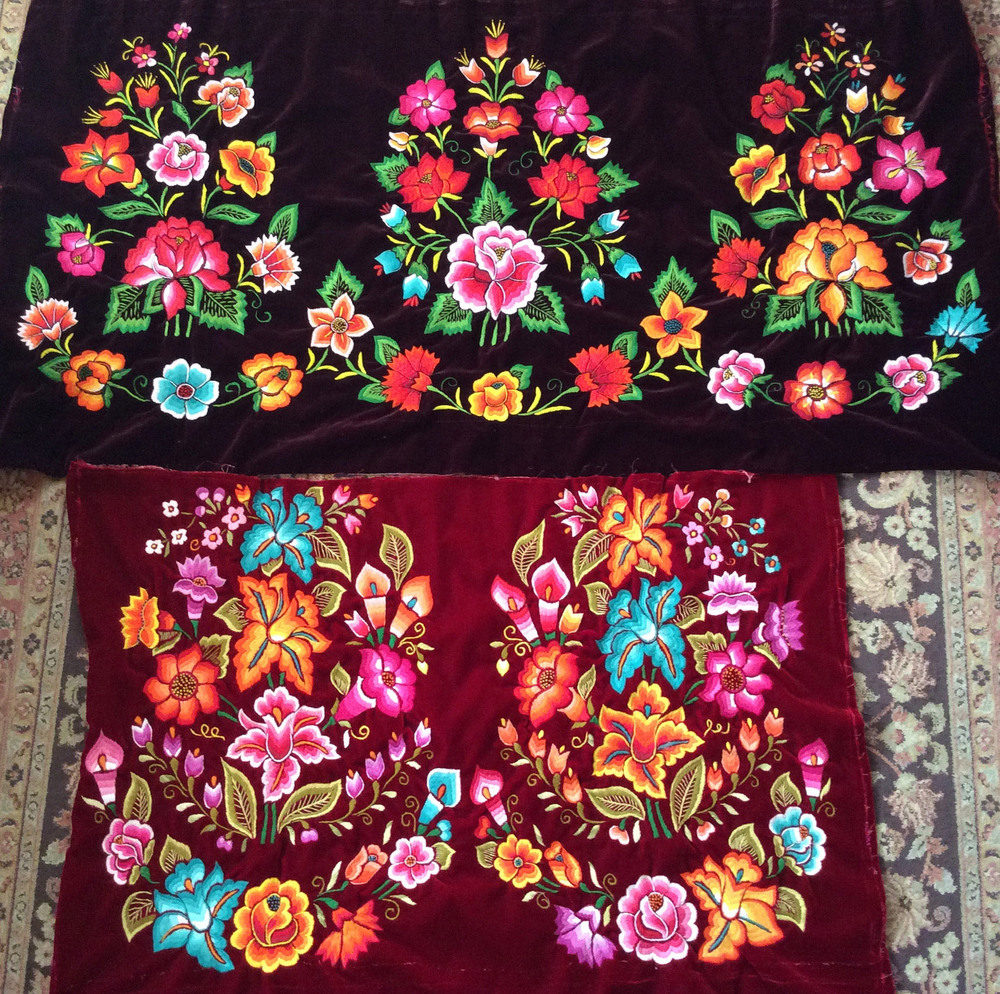 Tehuantapec hand embroidery