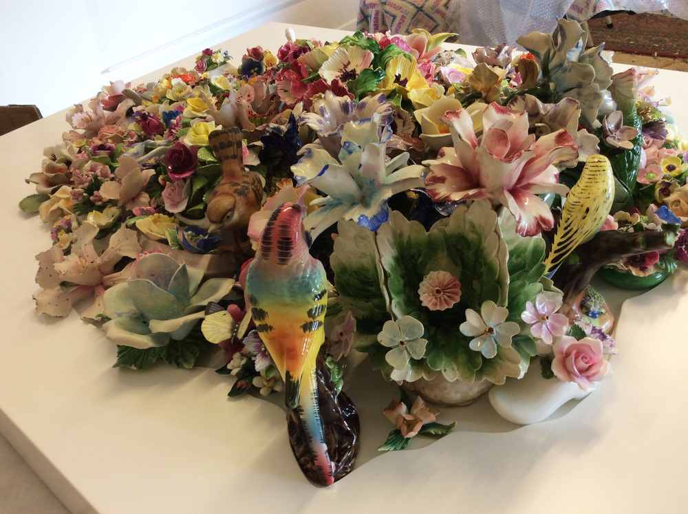 Porcelain Garden 2015 - detail