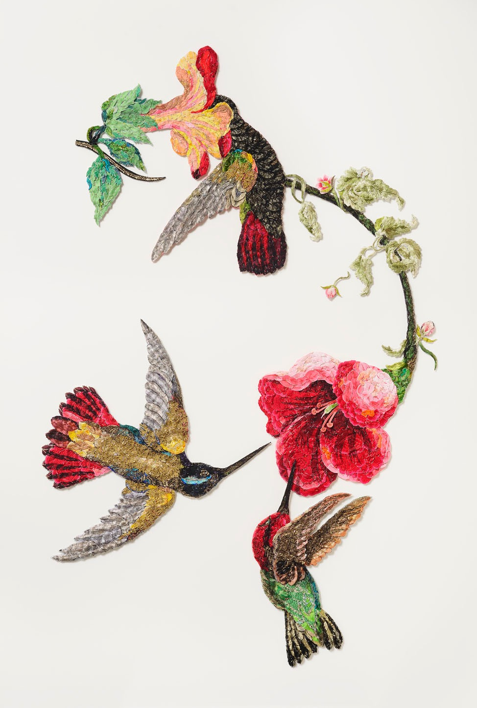 """Sky Jewels 2016 after John James Audubon 1833"""