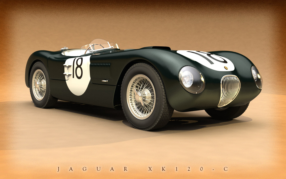 "Jaguar XK120 ""C-Type"""