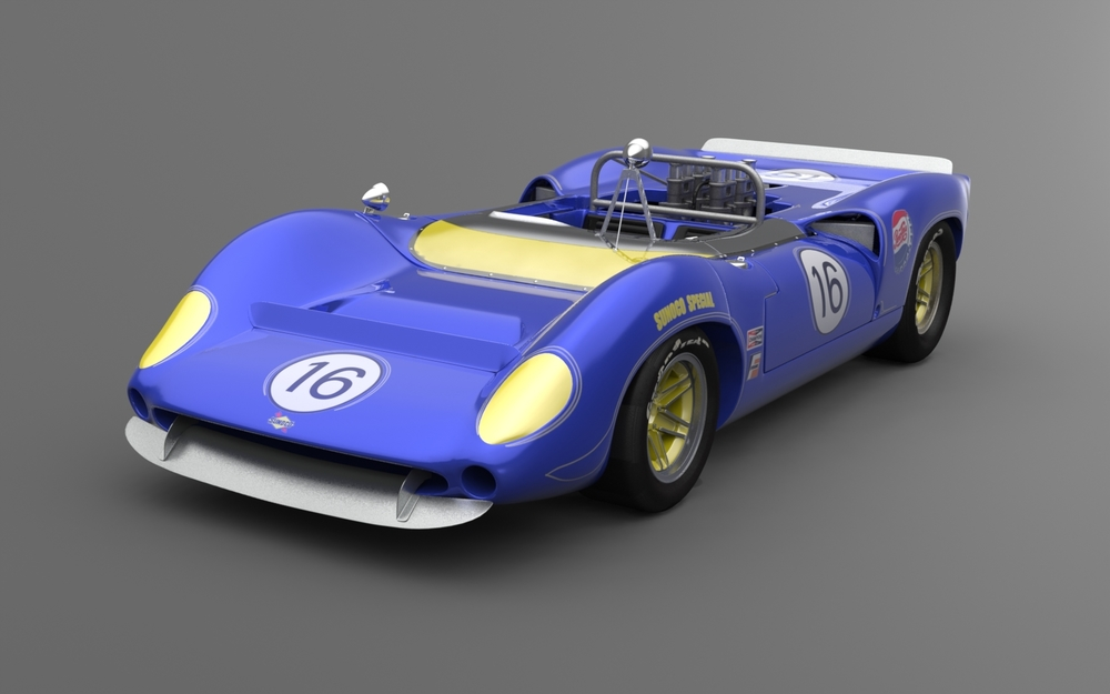 Lola T70 Racing Car