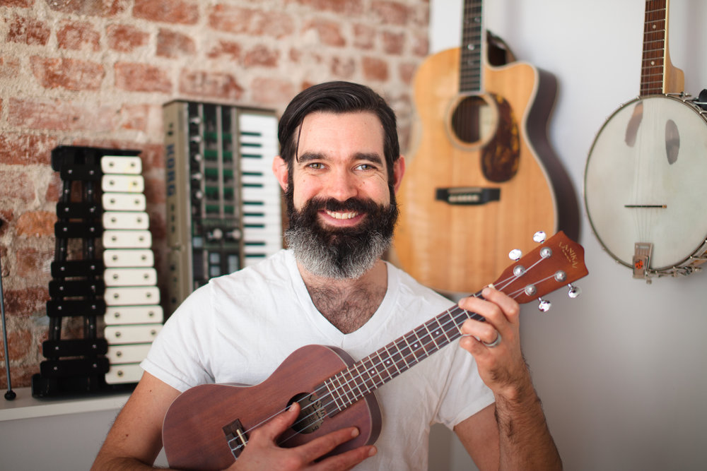 LESSONS COORDINATOR  Dan Costello is a professional multi-instrumentalist, and has taught early education and elementary music teacher for the past eight years. He has been teaching lessons for more than fifteen years, focusing on voice and piano but also teaching guitar, ukulele, clarinet and saxophone. As a professional touring musician in his twenties he played around the world, and has released six albums (some for kids, some for grown-ups) and played in a bunch of bands. In addition to teaching many lessons himself, Dan also connects new students with other talented teachers!