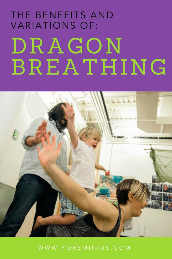 how to do dragon breathing kids yoga - YRM