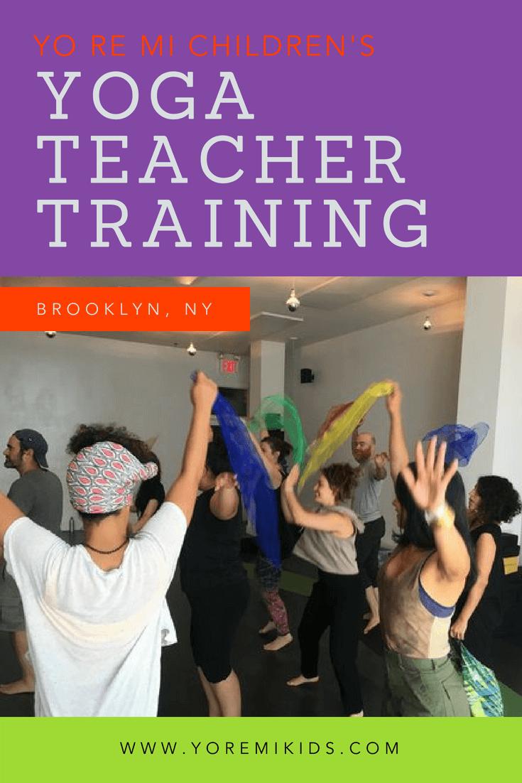 kids yoga teacher training brooklyn -YRM