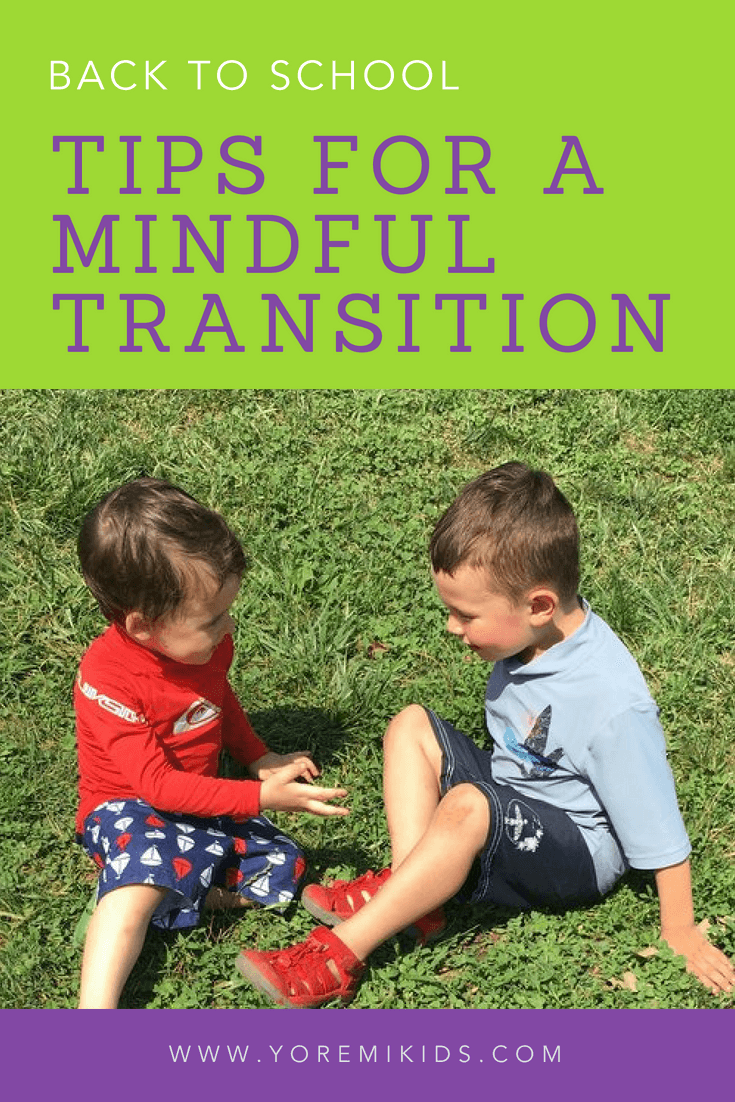 How to help toddlers transition to pre-k mindfully