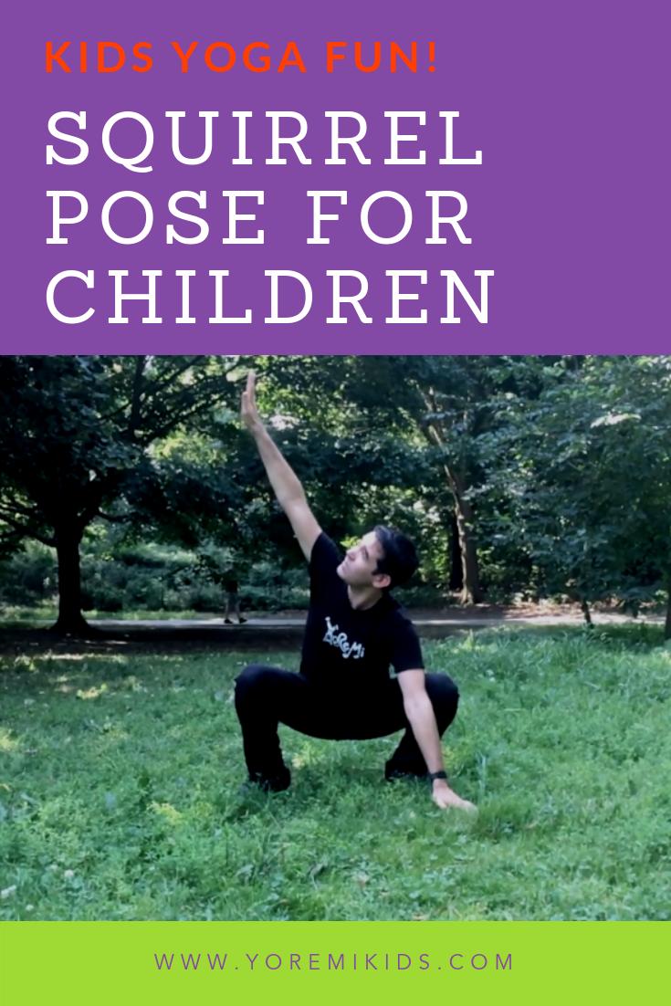 Fun malasana variations for kids yoga - YRM