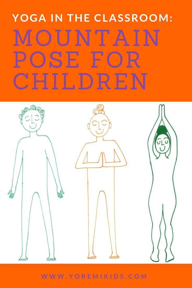 Fun mountain pose variations for kids yoga - YRM