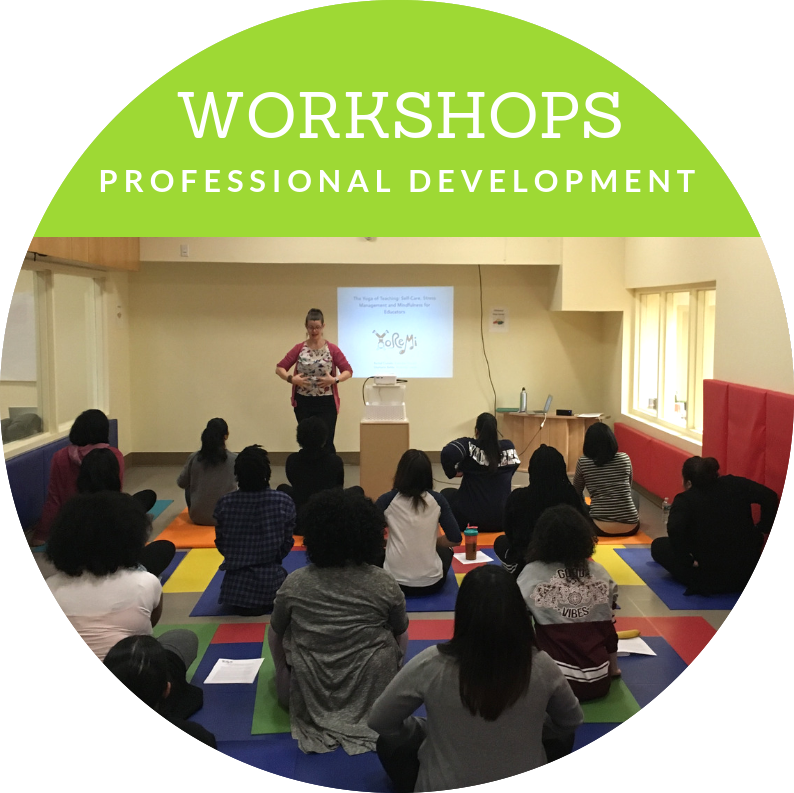 Professional Development Workshops for Teachers and Educators