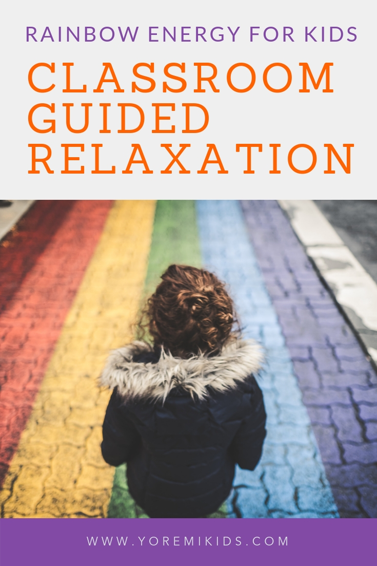 How to help the classroom reach calm with guided relaxation