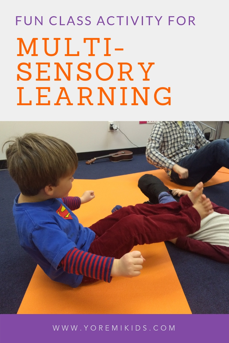 Multimodal learning and multi sensory classroom activities - YRM