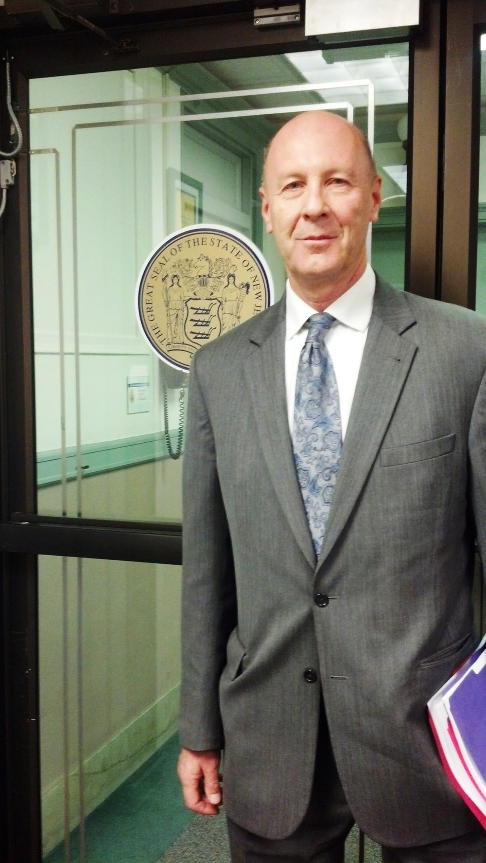 david meiswinkle preparing to submit a complaint with the new jersey state commission for investigations, concerning the nexus of jurisdiction for 9-11 in new jersey