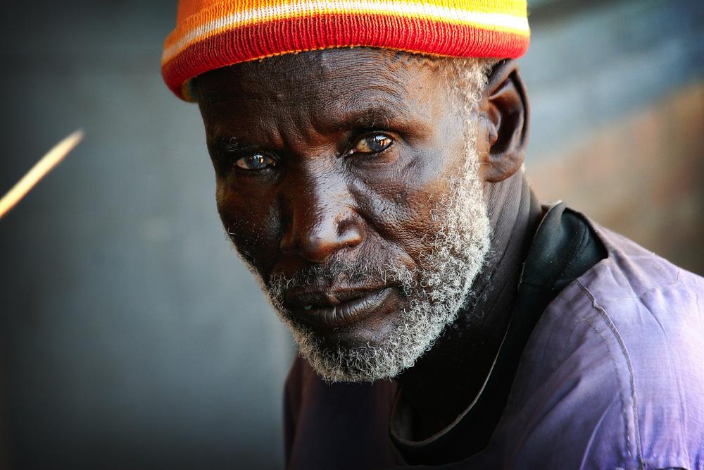 Elderly Sudanes