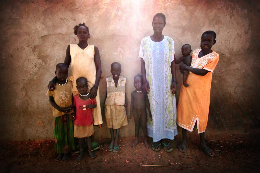 Sudanese family.