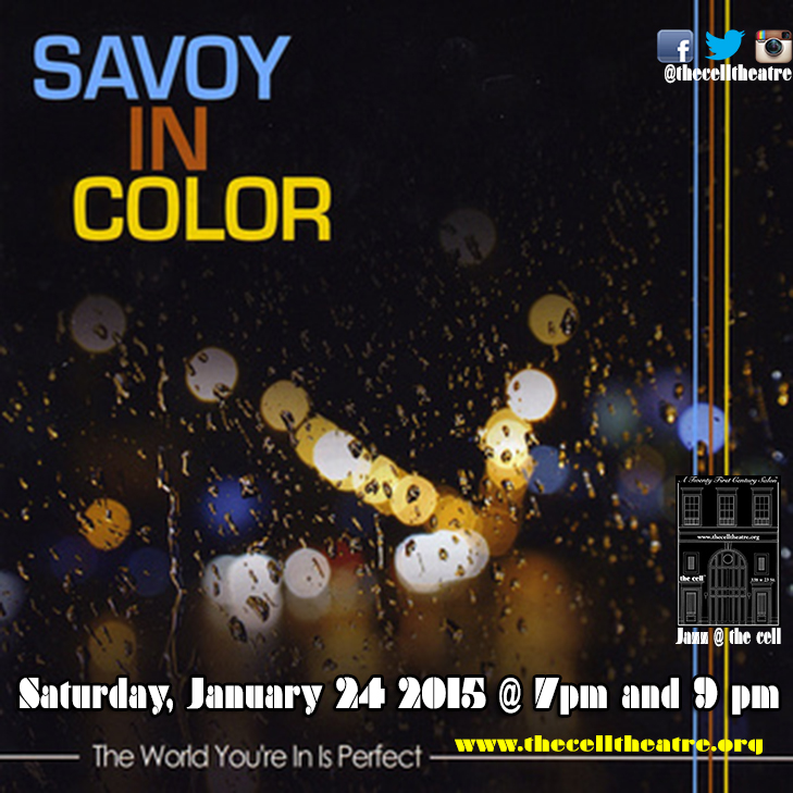 Join us for Savoy In Color's first event of 2015 and experience lush jazz, sonorous blendings of melodic horns and swinging rhythms.  This troupe of top NYC musicians, headed by composer-arranger Ben Cockerham, create some new spirited sounds. Their live performances are something else! Originals written by Cockerham for the group are interspersed with jazz classics, laced with stylings inspired by the incredible Gil Evans-Miles Davis collaborations of the 1950s & '60s. …with a horn section featured on Ghostface Killah's just-released album 36 Seasons! Savoy In Color hits the highs, both solo and in ensemble. . .  In these moments, The World You're In Is Perfect. SAVOY IN COLOR is: Ben Cockerham (Piano) Britton Matthews (Vibes), Joe Ancowitz (Lead trumpet, Flügelhorn), Geoff Countryman (Alto Sax), Gary Pickard (Baritone Sax), Damian Peters (Bass), Dave Previ (Drums) http://savoyincolor.bandcamp.com/releases