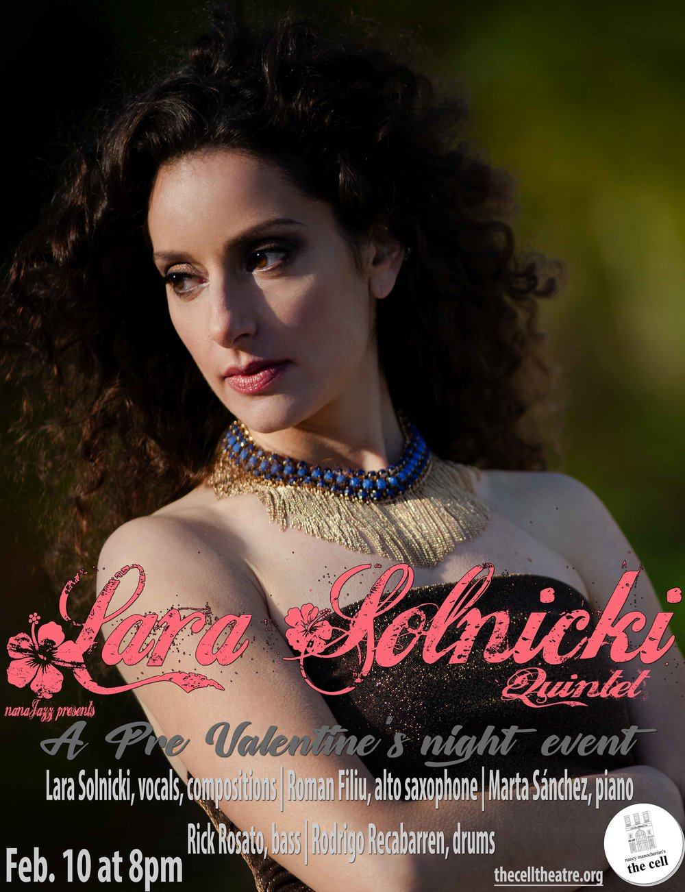 """Lara Solnicki's voice is dark and sweet and invites you in with such ease you find yourself changing plans for the rest of the night."" − Tom Allen"