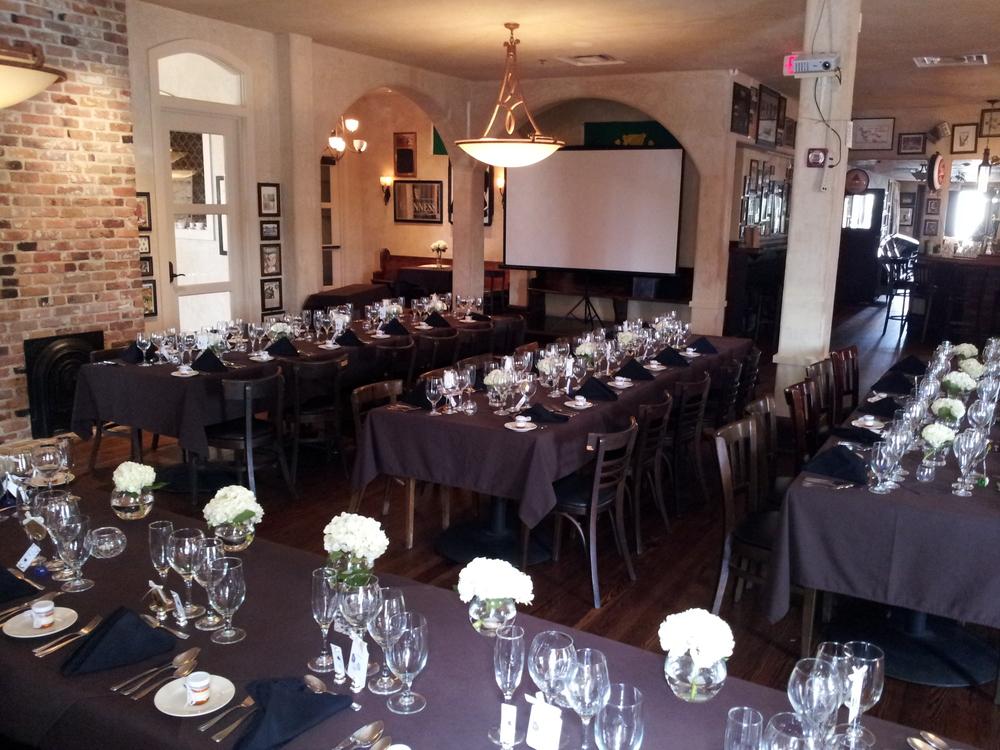 Main Room Upstairs - Rehearsal Dinner