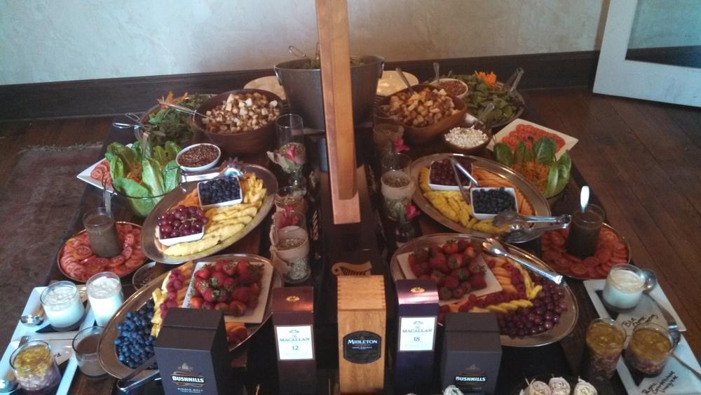 Salad & Hors d'Oeuvers Buffet
