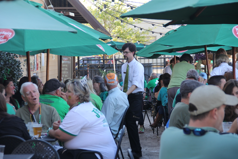Patio Event - St. Patrick's Day
