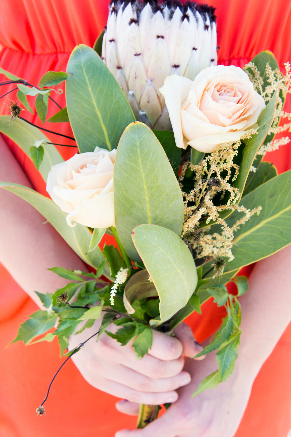 Beach bouquet wedding