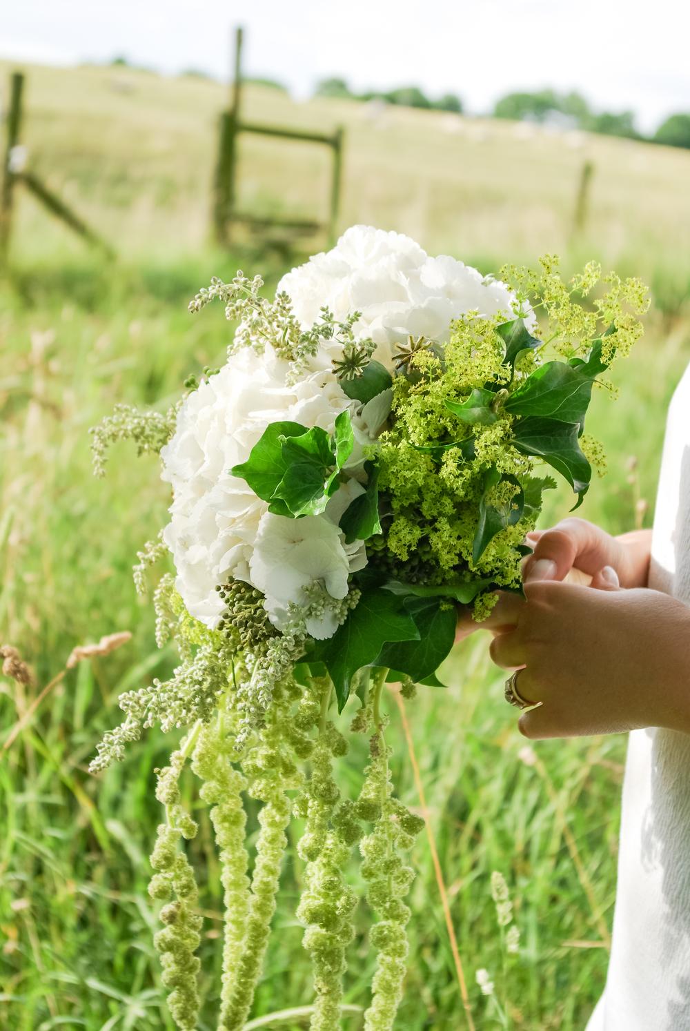 Bride's bouquet wedding