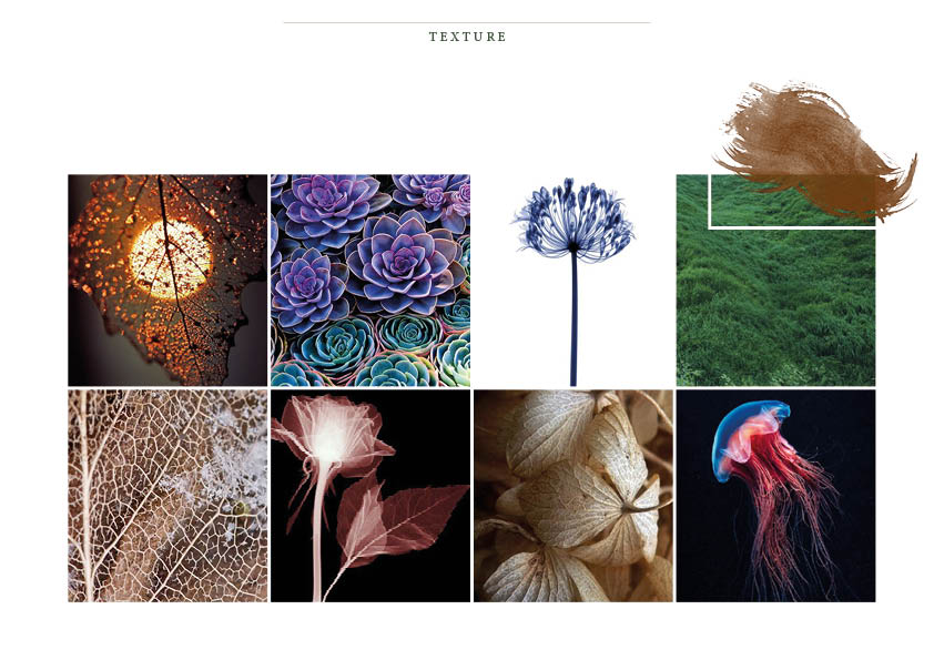 The texture mood board