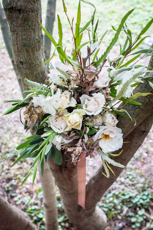 Cecelina_photograph_bouquet_Shere_village