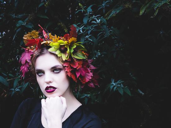 Fran modelling our floral crown.jpg