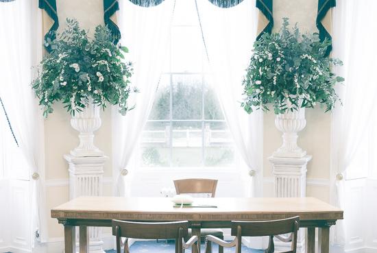 Pedestal arrangmemts Anna Hamer Wedding  Merton Register Office-1-2.jpg
