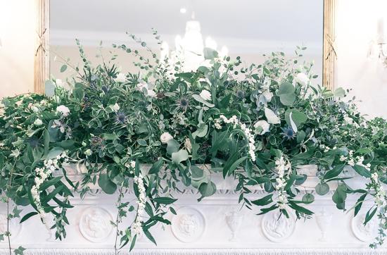 fireplace flowers Anna Hamer Wedding  Merton Register Office-2.jpg