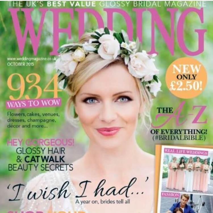 Front cover Wedding magazine October issue 2015.jpg