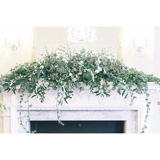 Sorry for my lack of posting the past couple of weeks, have been a busy bee 🐝 Christmas on the brain combined with clearing out my home office & sorting out my millions of vases & trying to find some order in the chaos!! Until I find it (I'm not sure it exists...) here is one of my favourite fireplace garlands - a bit of festive inspiration for you all - add some pillar candles and you've got yourself a beautiful Christmas fireplace 🔥