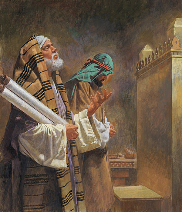 The Pharisee and the Tax Collector (Luke 18:9-14)