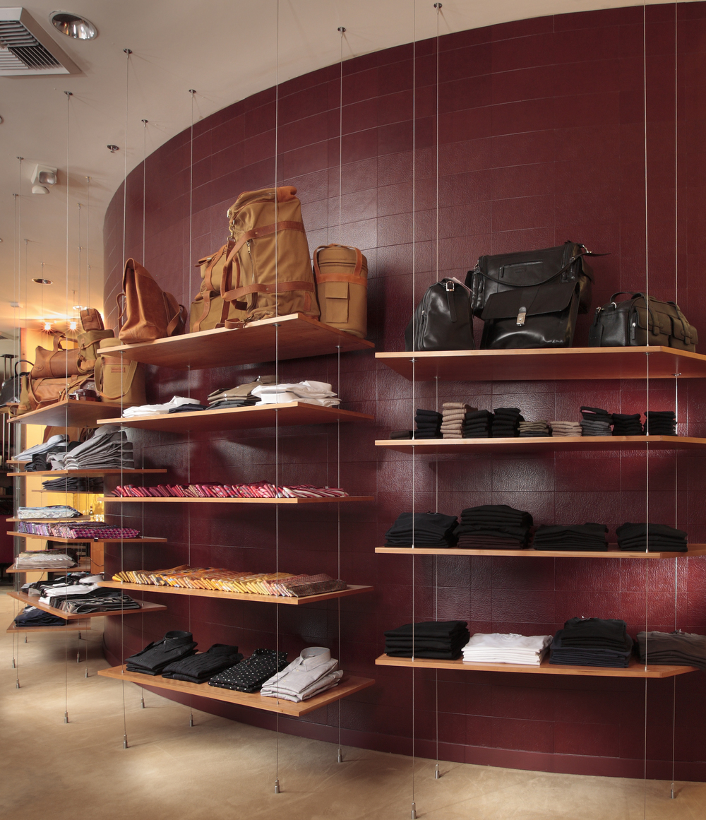 Retail Feature Wall - EcoDomo Recycled Leather Tiles - Photo by Greg Kozawa.jpg