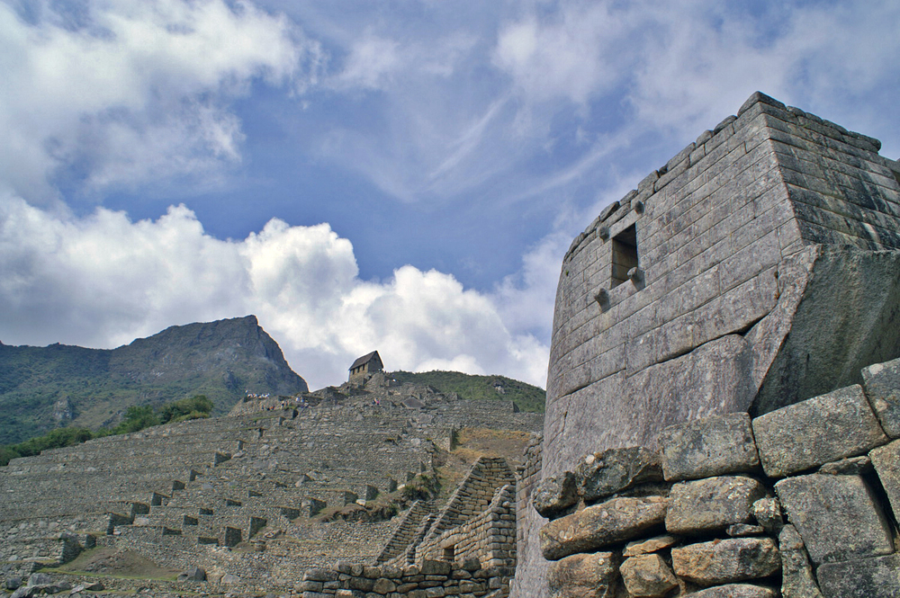 El Torreon at Machu Picchu