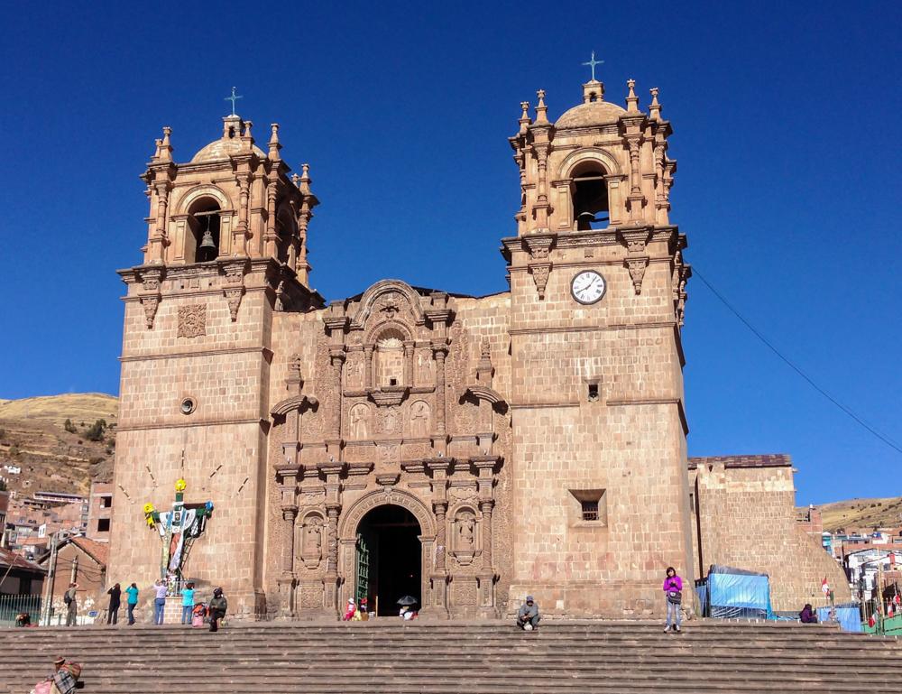 Puno Cathedral, or Catedral Basilica San Carlos Borromeo