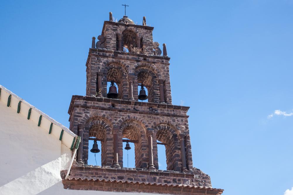 San Juan Bautista de Huaro bell tower