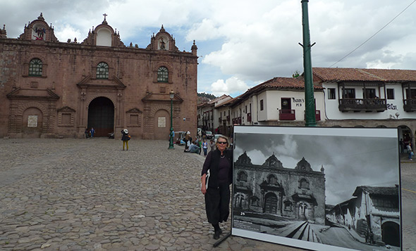 From the project, El Cusco de Martín Chambi