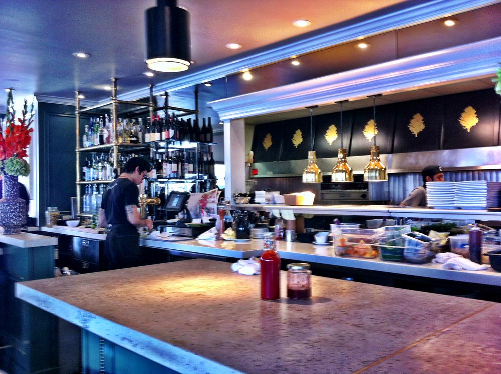 Diner Bar Area