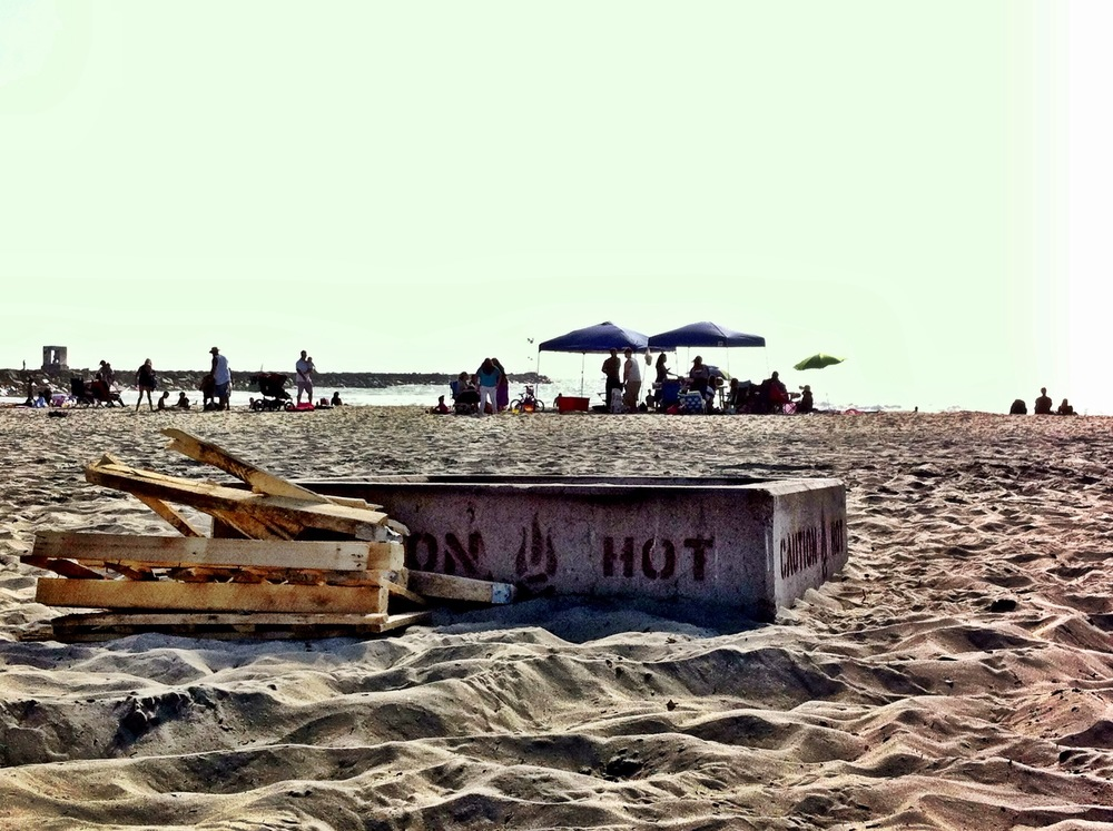 Firepit at South Mission Beach