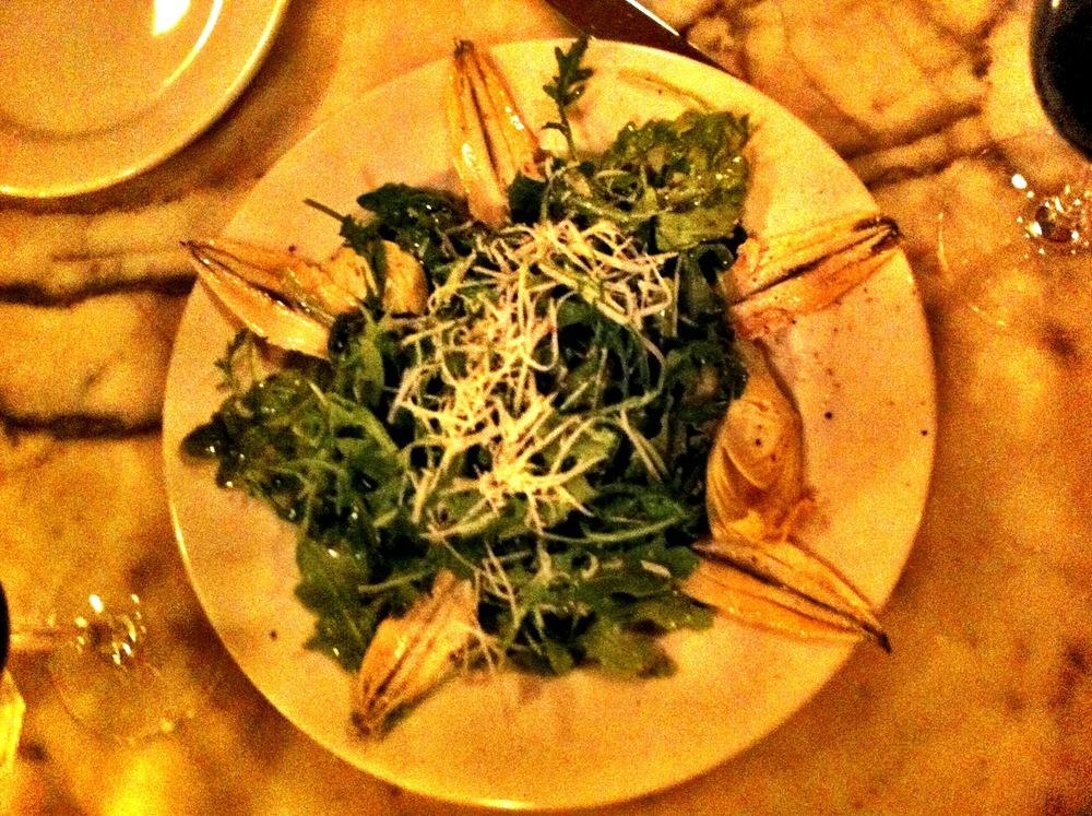 Sardine Salad Presentation