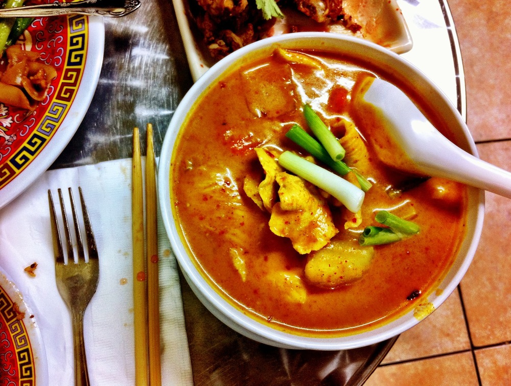 Sab-E-Lee's Chicken Yellow Curry