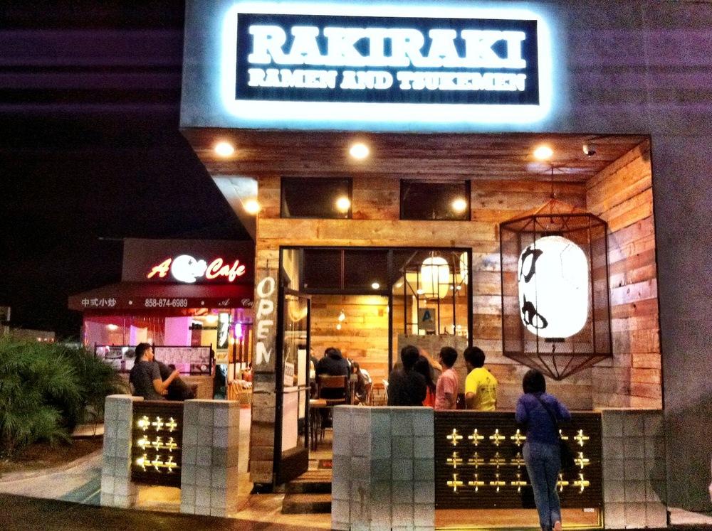 Rakiraki Ramen and Tsukemen - 4646 Convoy St, San Diego, CA 92111
